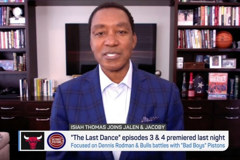 You won't believe who Isiah Thomas thinks are the best NBA players ever