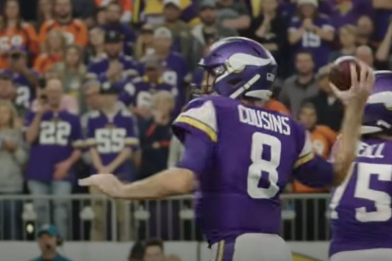 Vikings fans were left with their jaws on the floor after what Kirk Cousins just said
