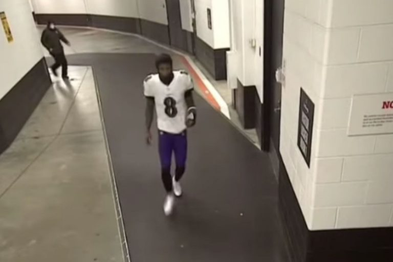 All Lamar Jackson needed was a bathroom break to lift the Ravens over the Browns